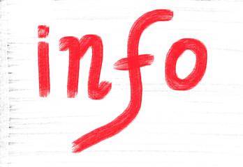 info concept