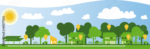 Smart city - 68377053