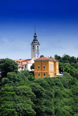 Church of the Blessed Virgin Mary on Trsat in Rijeka , Croatia