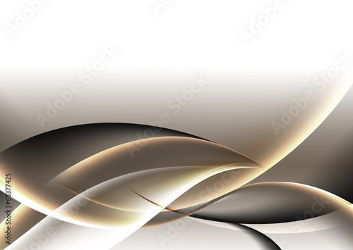 złota abstrakcja