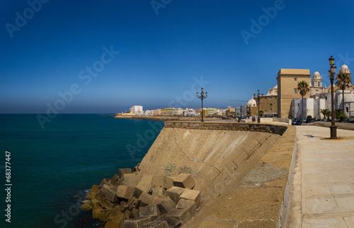 canvas print picture Cádiz im Sonnenlicht