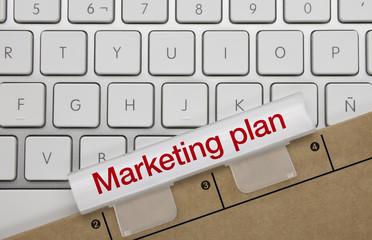 Marketing plan. Keyboard