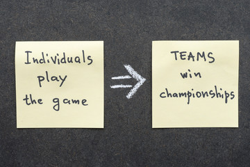 teams win