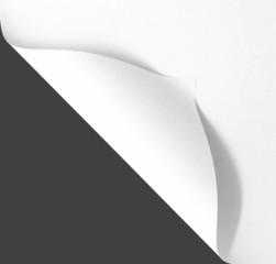 Seite umblättern-Konzept mit Textfreiraum