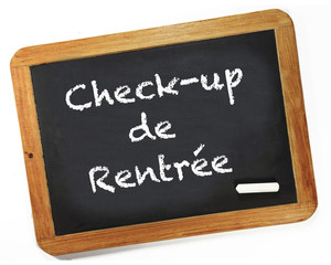 check-up de rentrée