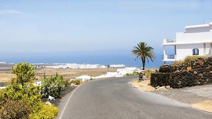 Panorámica de Lanzarote, Islas Canarias