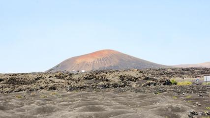 Paisaje volcánico de Lanzarote, Islas Canarias