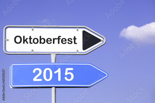 canvas print picture Oktoberfest 2015