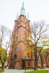The Church of Saint Clare tower, Stockholm