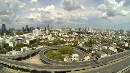 Time Lapse video of Bangkok, Thailand.