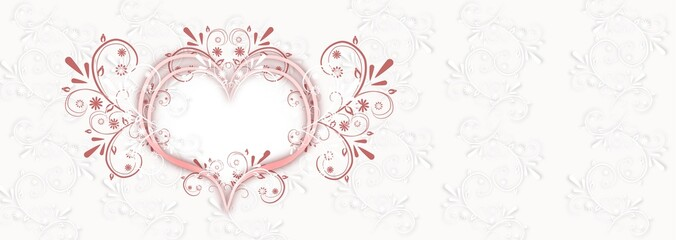 Wedding background banner