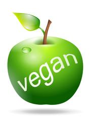 Apfel Vegan
