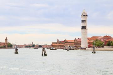 Murano island close to Venice