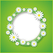 Abstract spring or summer background with flower