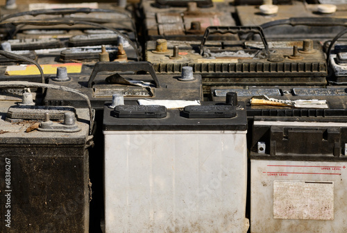 Old Batteries - 68386267