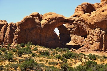 Arch in Canyonlands National Park near Moab, Utah, USA