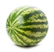 juicy watermelon isolated on the white background