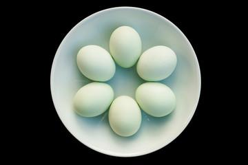 araucana egg still life