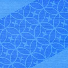 blue  paper floral background