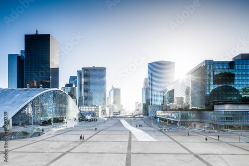 canvas print picture La defense in Paris