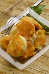 Mozzarella Моцарелла Cucina italiana Mozzarelle in carrozza