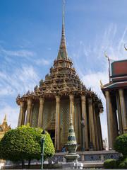 Wat Phra Kaew (the Grand Palace) of Thailand.