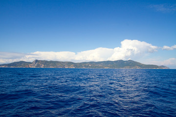 view of Argentario, Tuscany