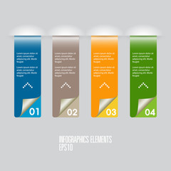 infographics element template