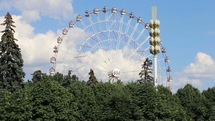 Ferris Wheel. VDNKh -- Moscow, Russia
