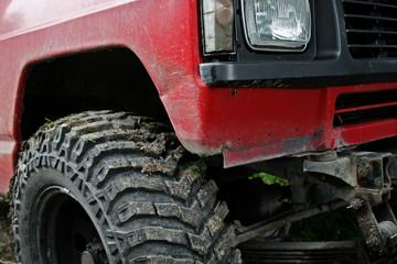 SUV detail