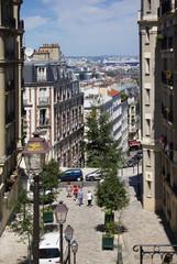 [PARIS]モンマルトルより望むパリの街並[北側]245
