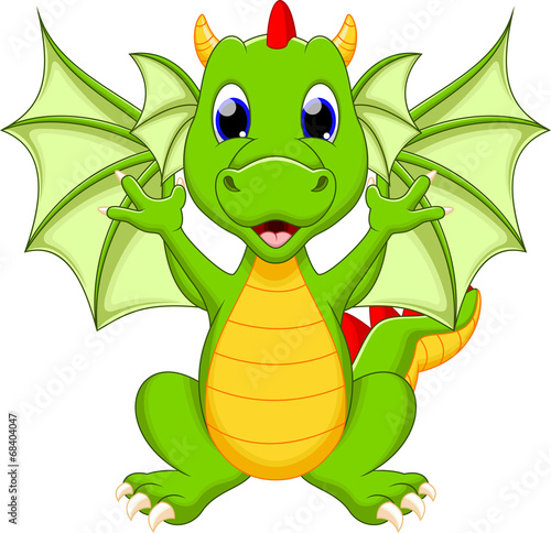 Dragon cartoon - 68404047