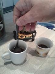 Il caffè mescolato