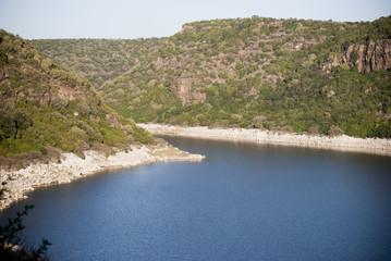 Sardinia.Cedrino lake