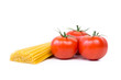 canvas print picture - spaghetti mit frischen tomaten