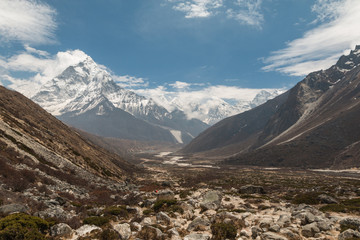 Khumbu Valley near Mount everest Nepal