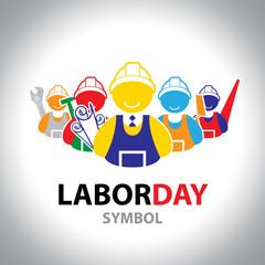 icon labor symbol. labor concept.