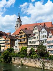 Tubingen, (Tübingen), in Baden-Württemberg, Germany.