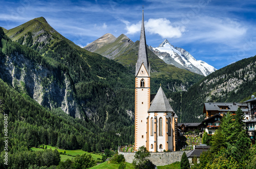 Grossglockner in Austria, European Alps - 68408457