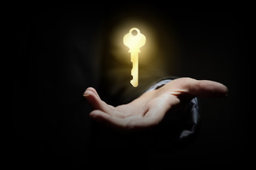 Key in hand