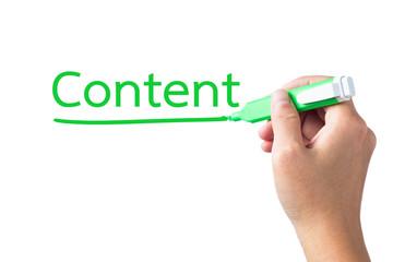 Content topic