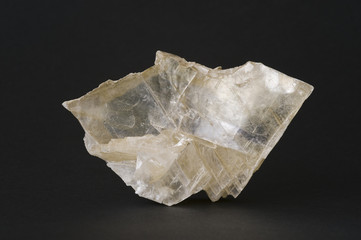 Large gypsum crystal. 15cm across.