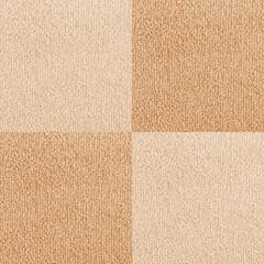 New beige checkered carpet texture