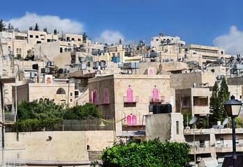 Палестина. Город Вифлеем. Современный жилой квартал
