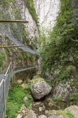 Gorges de la Fou walkway 1