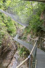 Gorges de la Fou walkway 2