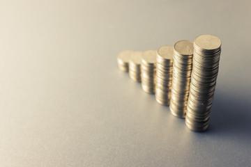 Coins stair