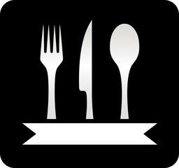 kitchen utensil black icon
