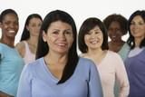 Fototapety Group of multi-ethnic women