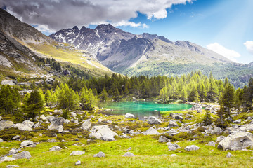 Lago Alpino - Valtellina (IT)